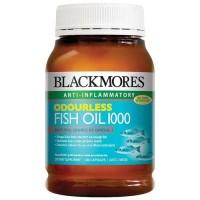 Jual blackmores fish oil odourless 100p 200 caps minyak ikan omega 3 Murah
