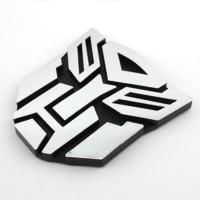 Jual Emblem Transformers Autobots ( Medium Size ) chrome bagus dan Murah Murah