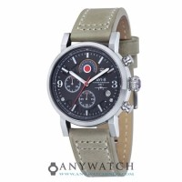 AVI 8 Man Hawker Hurricane Watch Black Dial Stone Leather AV 4041 02