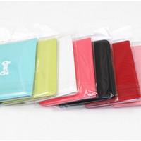 Jual Dompet kartu mini warna warni ribbon import korea lucu murah Murah