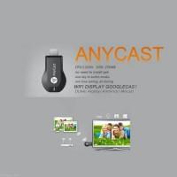 Jual ANYCAST IPHONE IPAD Smartphone ke HD TV Miracast semi Chromecast HDMI Murah