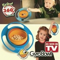 Jual best quality Gyro Bowl: Mangkok Anti-Tumpah Murah