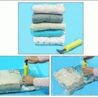 Jual [ JUAL PAKETAN ] Vakum Bag Set ( isi 6 pcs vakum bag + Free Pompa) Murah