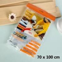 Jual [ ECERAN ] Large size Vacuum storage bag 70x100 cm Compressed Package Murah