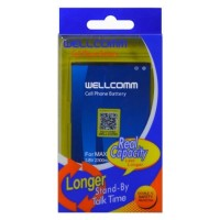 Jual produk istimewa Wellcomm Battery Double IC Untuk Smartfren Andromax V Murah