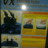asli murah aquarium filter canister Tetra VX 300 external filter