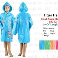 PONCO HUJAN PROMO COAT ANAK ELEGANT TIGER HEAD MANTEL CHILDREN RAIN C