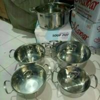 Jual (Murah) panci soup pot set / khusus gojek Murah