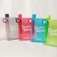 Jual Memo Bottle Do Your Best / Botol Minum MemoBottle Transparan 420ml Murah