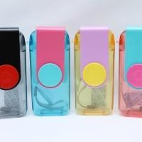 Jual Botol Minum Tumbler Slim - Memo Bottle - Botol Kotak 380ml B08-1 Murah