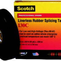 (Sale) 3M Scotch Linerless Rubber Splicing Tape 130C