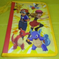 Jual Kiky Zipper Binder File A5 Karakter Pokemon | Buku Binder|Binder File Murah