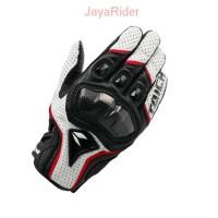 Sarung / Kaos tangan Rs Taichi RST390 White - Hand Gloves Bikers Motor