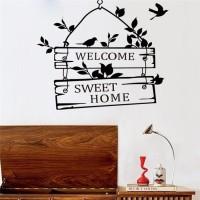 Jual Sticker Wallpaper Dinding Welcome Sweet Home Murah