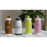 Jual Botol Minum Penyaring Teh BPA Free Cute Animal Cup 320ml Murah