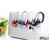 Earphone Sport Extra Bass Handsfree Headset with Microphone