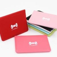 Jual LARIS Dompet kartu mini warna warni ribbon import korea lucu murah HH Murah