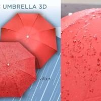 Jual Payung Hujan 3D 3 Dimensi AJAIB Magic Umbrella Merk Cap Kapal Original Murah