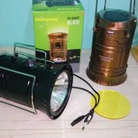 Jual harga promo Lampu lentera emergency plus senter 6 LED Murah
