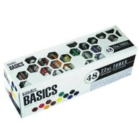 terbaik Liquitex Basics Acrylic Paint Tube Set 48