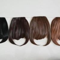 Jual kualitas bagus hairclip poni depan murah original korea Murah