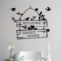 Jual (Wallpaper) Sticker Wallpaper Dinding Welcome Sweet Home Murah