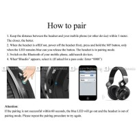 Jual Bluedio Turbine T2+ Headphone Bluetooth Card Slot + FM Radio - Putih Murah