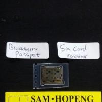 Jual Blackberry Passport Q30 Konektor SimCard / Rumah Sim Card . Murah