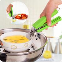 Jual Penjepit mangkuk / mangkok / panci / alat pegang anti panas dish clamp Murah