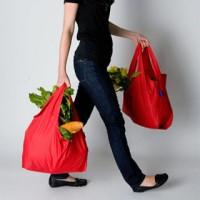 Jual Baggu Bag (Tas Belanja Modis Lipat Kantong) 40x56 - Sisa Export Murah