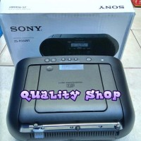 Compo sony bombox ZS RS60BT CD Mp3 bluetooth usb radio am fm