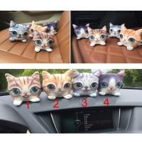 Jual Boneka Kucing Kitty Cat Arang Bambu Charcoal Penghilang Bau Mobil Murah