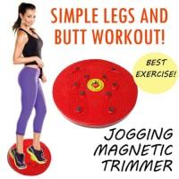 Jual (Diskon) magnetic trimmer jogging body plate / trimmer / alat jogging Murah