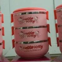 Jual harga termurah Rantang 3 Susun Hello Kitty / Rantang 3 Susun / Rantang Murah