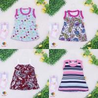 (ISI 3 PC) Daster Yukensi Bayi uk 0-12 Bulan Dress Bayi Baju Kaos