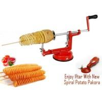 Jual Promo Menarik Spiral potato slicer pemotong kentang spiral Murah