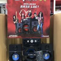 Niko Speaker Bluetooth Atomic Boom Bass Technology