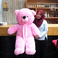 Boneka Beruang (Teddy Bear) Jumbo / Besar Pink