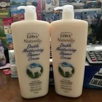Jual Leivy Naturally Double Moisturising Shower Cream 1150ml Murah