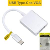 KABEL USB 3.1 TYPE C TO VGA TIPE CONVERTER PROYEKTOR MACBLE-Vikento