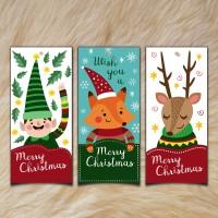Hang Tag / Kartu Ucapan cocok untuk hadiah natal / Merry Christmas