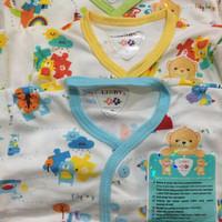 Setelan baju tidur kancing depan libby baby wear piyama anak bayi (M)