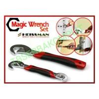 Jual Magic Wrench Set 2pcs Snap N Grip Multifungsi Kunci Pas Murah Murah