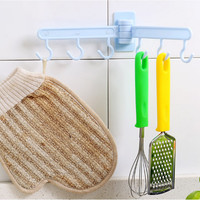 Gantungan alat dapur handuk lap sendok panci celemek tempel - HPD049