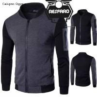 Jual jaket pria semi kulit/jaket motor/jaket casual Murah
