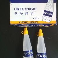 Lem Cair Liquid Adhesive 75ml - Povinal 112