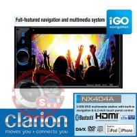 Clarion NX-404A Double Din Built In Igo-Primo GPS Navigation