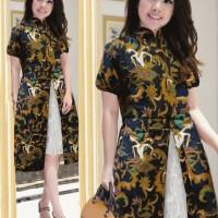 Jual Dress Kemuning wayang batik Murah