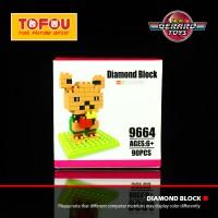 Jual Mainan Anak Nanoblock Sanrio Hello Kitty 9664 Murah Murah