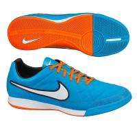 PROMO Sneakers Sepatu Futsal Nike Tiempo Legacy IN Blue Orange Origin